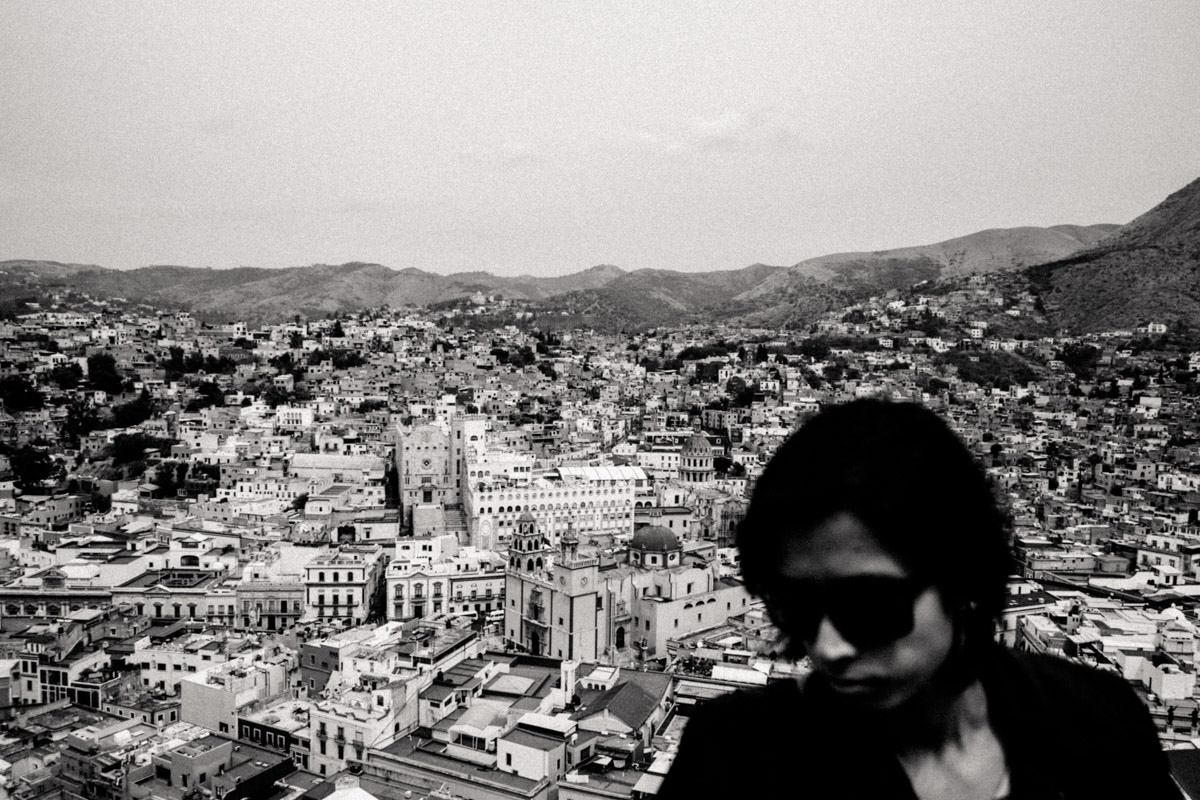 A #SorryAnton portrait of Charlene, viewed from El Pipila statue lookout.