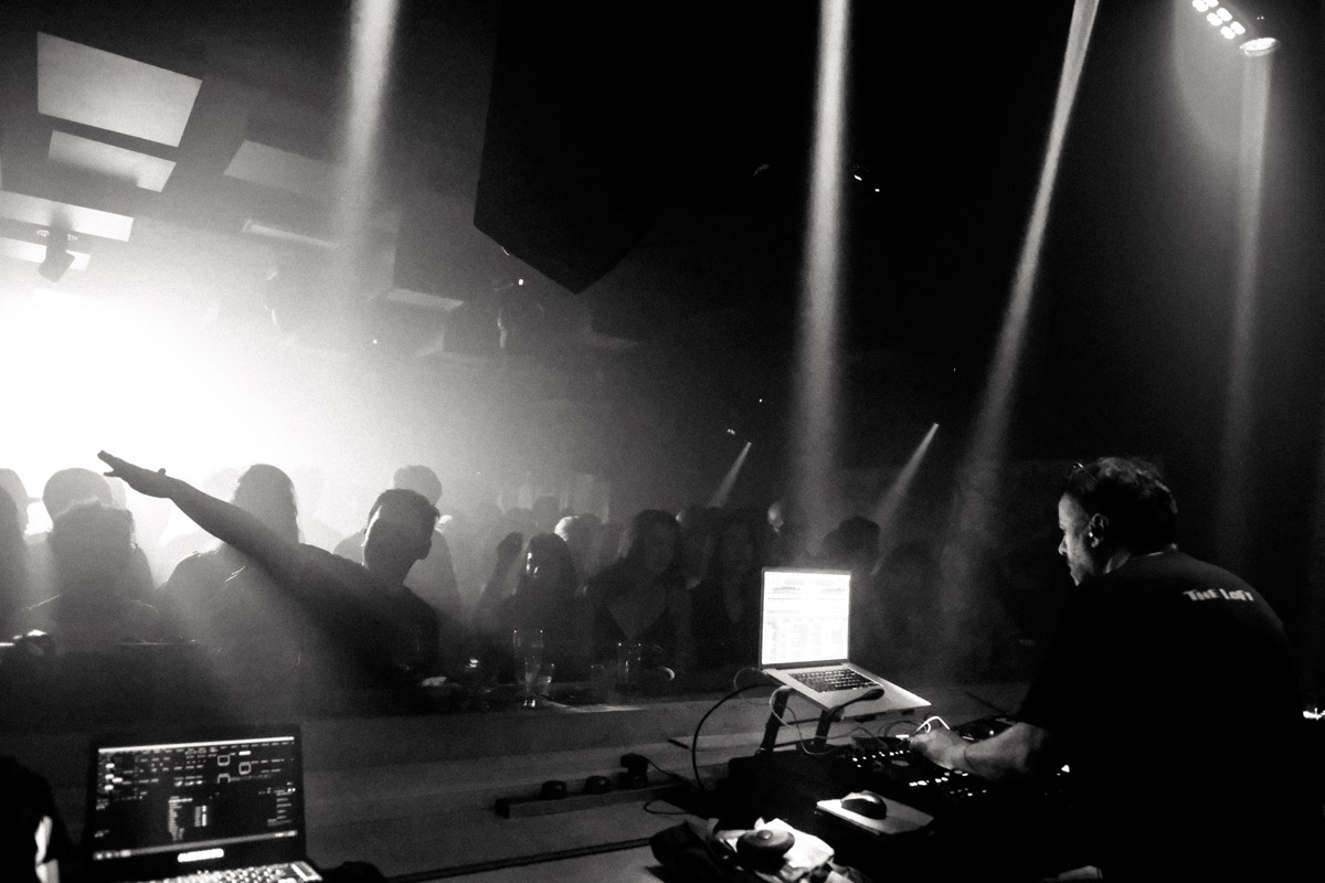 Francois K at kyo. I love Francois K, not only is he a legend, it also means I am not the oldest in the DJ booth!
