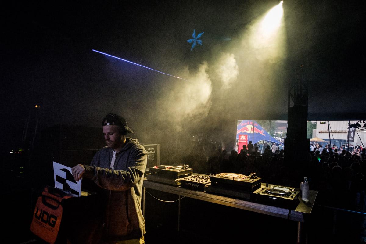 Kasper Marrott performs at Red Bull Music Academy Stage at Distortion in Copenhagen, Denmark on June 4th, 2016