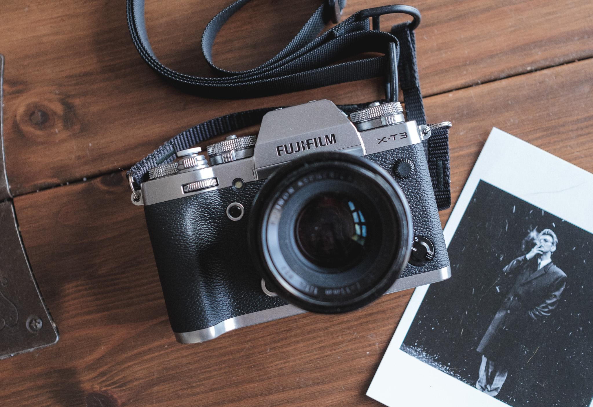 The Fujifilm X-T3 in Silver