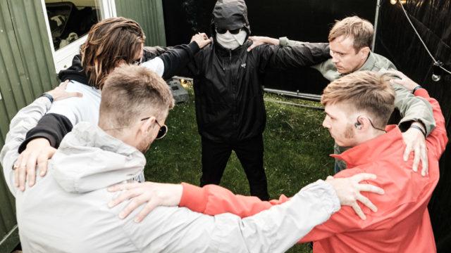 The Minds of 99 på Northside 2019 – backstage. Foto af Flemming Bo Jensen
