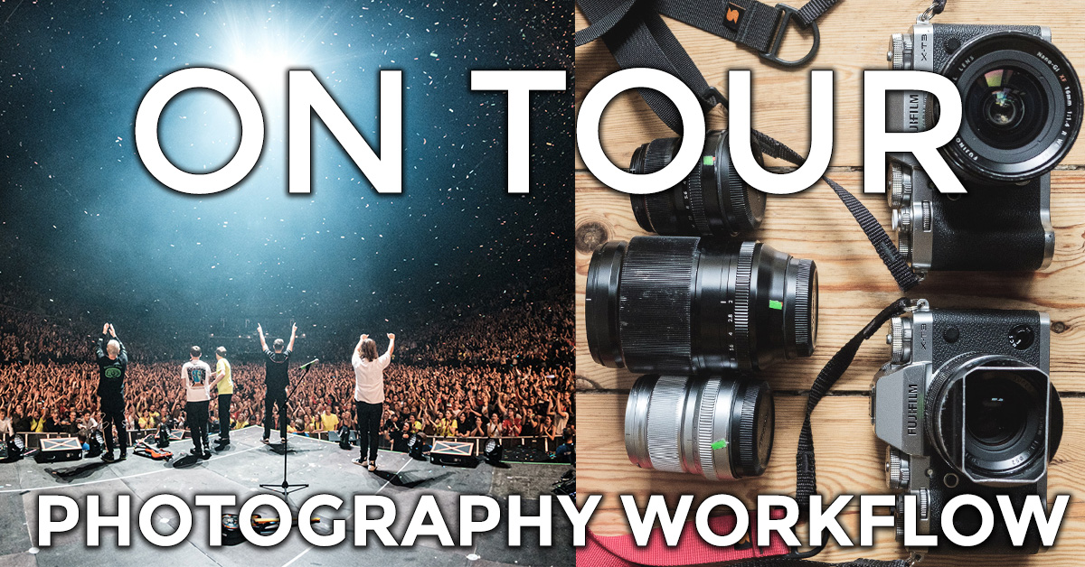 """Featured image for """"On Tour: Photography Workflow"""""""