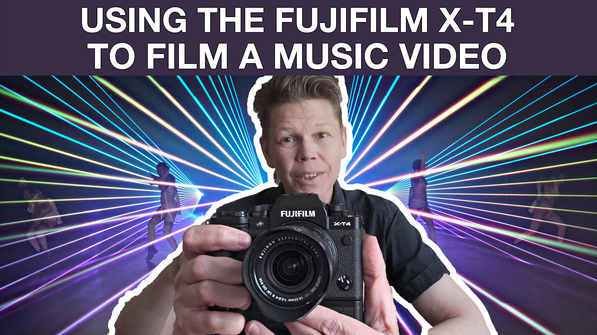 """Featured image for """"Using the FUJIFILM X-T4 to film a music video"""""""